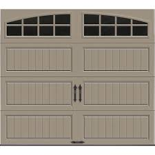Garage Styles Clopay Gallery Collection 8 Ft X 7 Ft 18 4 R Value Intellicore
