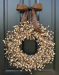 wheat fields berry wreath barley fields outdoor wreaths and