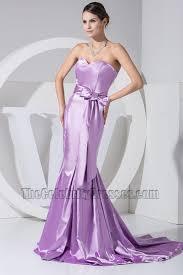gorgeous lilac strapless mermaid formal dress prom dresses