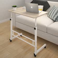 laptop computer end table adjustable sofa bed side table laptop computer desk