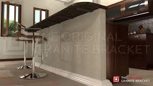 kitchen island brackets kitchen island knee wall 13 pass through window intended decor in
