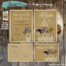 kraft paper wedding invitations awesome rustic wedding invitations kraft paper jakartasearch