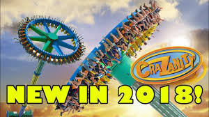 Six Flags Locations Crazanity Six Flags Magic Mountain New Ride For 2018 Youtube