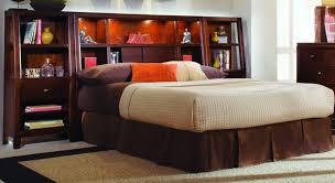 Bookcase Headboard King Bedroom King Size Storage Bed With Bookcase Headboard Size