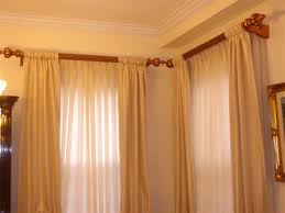 Bedroom Curtain Rods Decorating Decorative Curtain Rods With Drapery Decorations 13