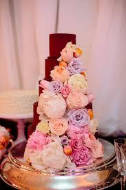 chocolate wedding cake with flowers elizabeth anne designs the
