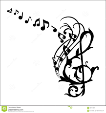 music notes wall decal vector illustration stock illustration royalty free illustration download music notes wall decal