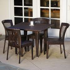 cliff all weather wicker dining chairs set of 2 hayneedle