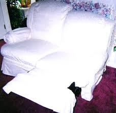 Slipcovers For Reclining Sofa And Loveseat Covers With Recliners Epromote Site