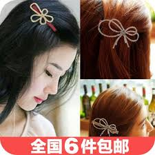 2018 1820 korea korean hair accessories hairpin rhinestone