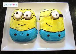 the minion cakes u2013 japsierons the oven chronicles