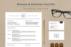 resume business cards classic resume business card set resume templates creative