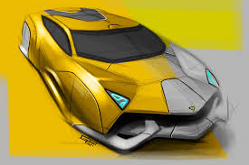 lamborghini insecta concept lamborghini design sketches by various artist supercar sketches