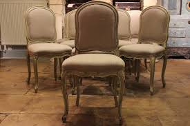 Painted Dining Chairs by Large Set Of 12 French Painted Dining Chairs In The Louis Xvi