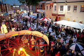 wokingham winter carnival floats stalls procession winter