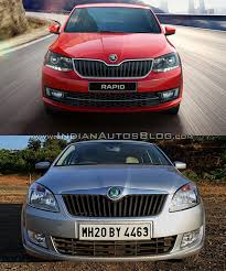 2017 skodarapid vs 2012 skoda rapid u2013 old vs new cars daily