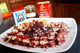 poulpe cuisine recette de poulpe aux 3 paprikas