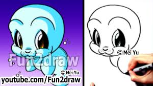 cute animals drawing tutorial how to draw easy characters