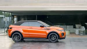 evoque land rover convertible key features