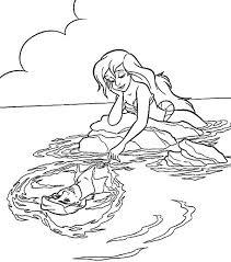30 princess ariel images disney coloring pages