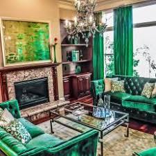 Emerald Green Velvet Sofa by Photos Hgtv
