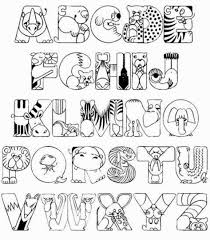 alphabet capital letters coloring page throughout pages eson me