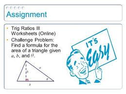 lesson 28 review of right triangle trig u0026 the sine law u0026 cosine