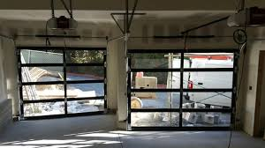 Glass Overhead Garage Doors Top Commercial Glass Garage Doors With American Made Commercial