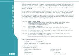 Resume For Interior Design Internship Resume Interior Design Resume Samples