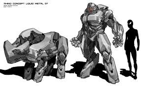 the amazing spider man 2 rhino concept designs by robert simons