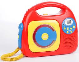 cd player für kinderzimmer tragbarer kinder cd player mit karaoke mikrofon funktion
