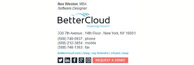 professional business email signature service digitech branding