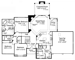 craftsman house plan with 3 bedrooms and 2 5 baths plan 9078
