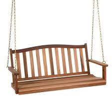 Luxcraft Porch Rocker Amish Yard Wood Porch Swing Bench Outdoor Patio Deck Yard Hanging Glider