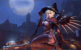 free halloween red hair witch images on white background overwatch halloween skins polygon