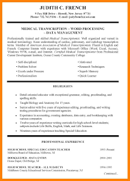 special skills for resume special skills for acting resume