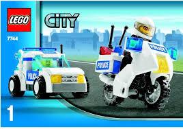 Lego Headquarters Lego Police Headquarters Instructions 7744 City Police Rescue