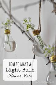 how to make home decor crafts how to make a light bulb flower vase turn your old burnt out