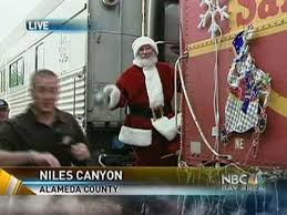sunol train of lights sunol train of lights leaves the station nbc bay area