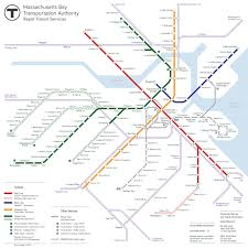 Mbta Map Subway by Transit Maps