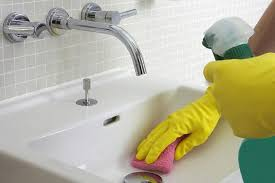how to clean kitchen faucet how to clean bathroom and kitchen sink faucets