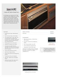 download free pdf for wolf l series so36u oven manual