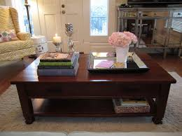 Decorating Coffee Table Decorating A Square Coffee Table Cool Home Design Gallery