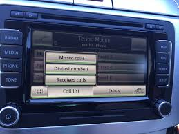 volkswagen bluetooth 9w7 premium retrofit kit vw oem genuine
