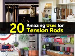 20 amazing uses for tension rods