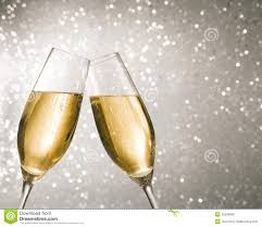 champagne clipart champagne flutes with golden bubbles on silver light bokeh
