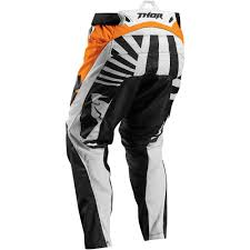 womens thor motocross gear thor 2017 fuse air dazz jersey and pants package white orange