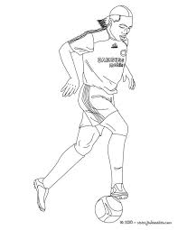 69 best coloriages football images on pinterest soccer players