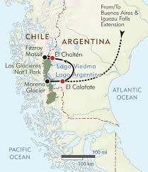 Buenos Aires Map Argentina Private Journey Itinerary U0026 Map Wilderness Travel