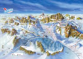 Piste Maps For Italian Ski by Trail Map Lagazuói 5 Torri U2013 Passo Giau Passo Falzàrego